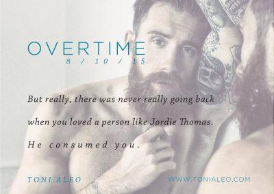 Overtime by Toni Aleo - Teaser 1