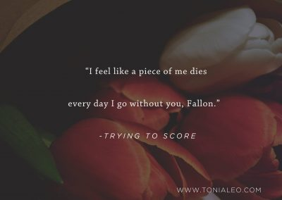 Trying To Score by Toni Aleo - Teaser 1
